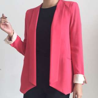 Korean Pink Blazer
