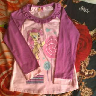 Stelan Baju Anak Littlepineapple