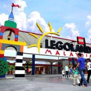 LEGOLAND theme park tickets x2 (adult)