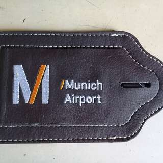 Repriced! Luggage Tag from Germany