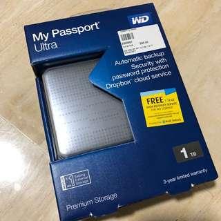 Western Digital WD HDD-My Passport Ultra 1TB