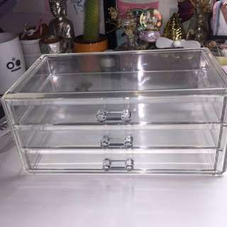 ACRYLIC MAKEUP DRAWERS