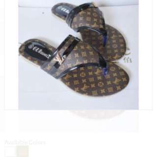 Louis Vuitton thongs!!!
