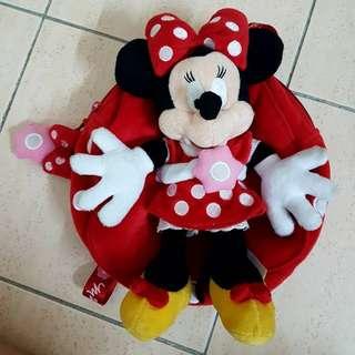 Minnie small backpack (HK disneyland)