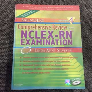 Saunders NCLEX RN reviewer 4th edition