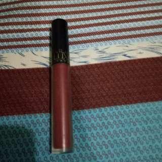 MUA Make up academy matte lipstick in Reckless