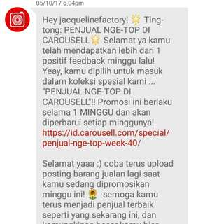 Thank You Carousell 🙏💜💋