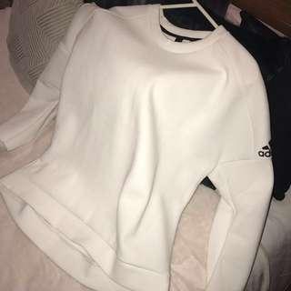 Adidas Z.N.E White Jumper