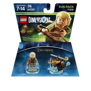 Lego 71219 - Dimensions Lord Of The Rings Legolas Fun Pack
