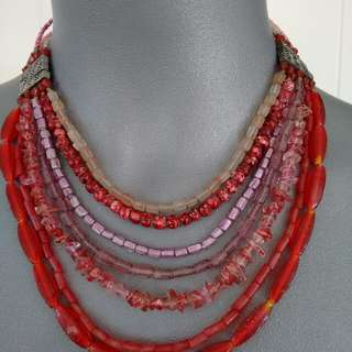 Fabulous red necklace