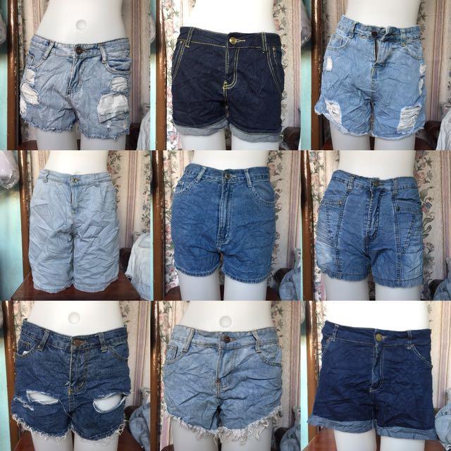 15pcs for P500 Denim Shorts