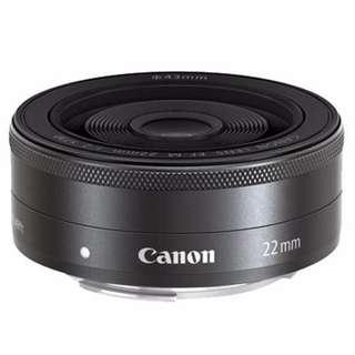 HomeWhiz: Canon EFM 22mm f/2.0 STM