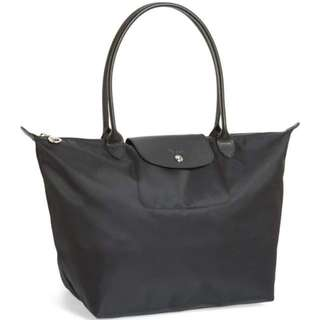 Longchamp Large Le Pliage Neo Nylon Tote