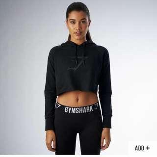 Gymshark Crop Hoodie Size M