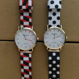 BN Colourful Platinum Watches