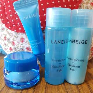 BN - Laneige Water Bank and Essential Balancing items