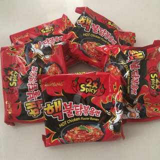 Samyang 2x Spicy Noodles *ONHAND*