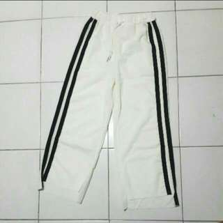 NEW! White Track Pants