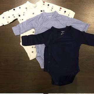 Carters set of 3 (3 months)