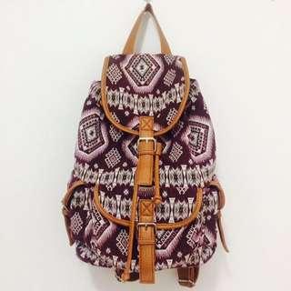 Tribal Patterned Travel Bag