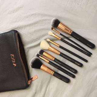 AUTHENTIC Zoeva Brush Set
