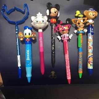 正版 迪士尼 Disney 可動 原子筆 送禮物