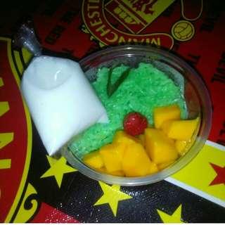 Ketan Mangga Ala Thai/Mango Sticky Rice
