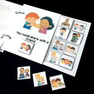 DIY Interactive Book: Kind Act