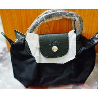 Long Champ Mini (Black)