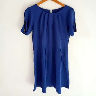 Mini Dress Lady in Blue