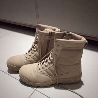 Military Boots (each worn less than twice)