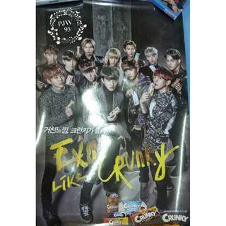 Exo CRUNKY poster
