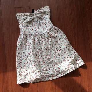Floral Summer dress 👗, cutout back