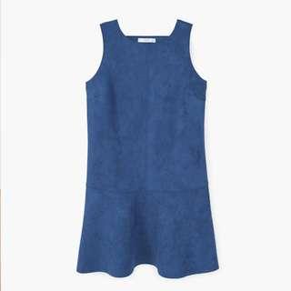 Blue dress from Mango (size 4)