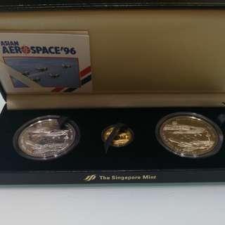 The Singapore Mint Asian Aerospace 96