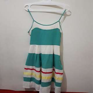Dress bahan sifon jatoh