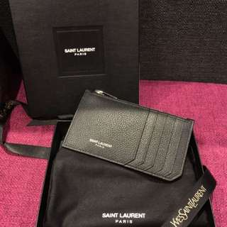 Authentic Saint Laurent Card Holder