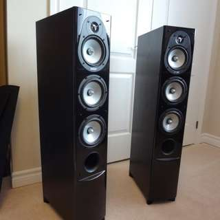 ENERGY CF-50 SPEAKERS AND EW-100 SUBWOOFER