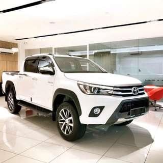 2018 New Toyota Hilux Revo 2.8cc Full