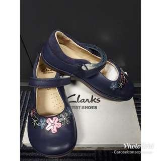 Clarks Elza Lily Navy