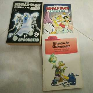 Spanish disney comics
