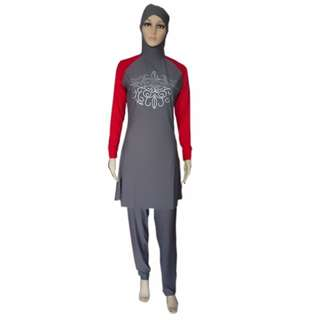 Muslimah Swimwear / Swimsuit [2 Piece Suit]