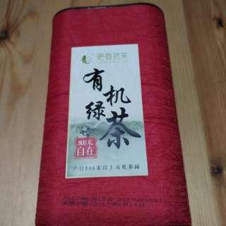 250g有機綠茶(產自800米以上有機茶園)