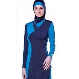 Muslimah Swimwear / Swimsuit [4 Piece Suit]