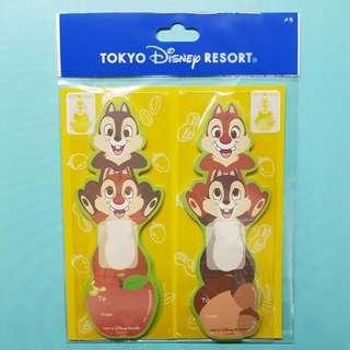 東京迪士尼 大鼻鋼牙 便利貼