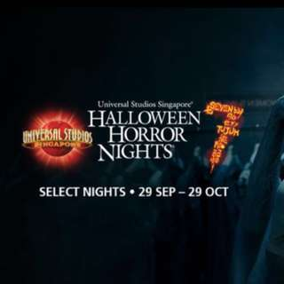 Halloween Horror Night 7 Tickets