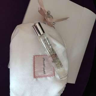 Jill Stuart 白花香水及化妝袋