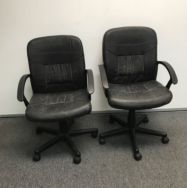 2 Old Ikea Office Chairs Price For
