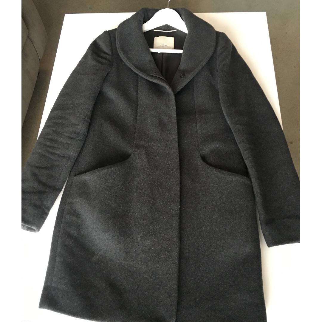 $325 Wilfred Aritzia Cocoon Coat Size XXS Shopbop Nordstrom Revolve Nastygal
