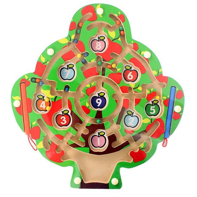 木製蘋果樹迷宮